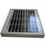Glass Fronted Solar Panels