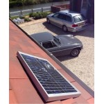 Classic Car Solar Panel Trickle Chargers