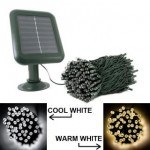 Easy festive cheer with solar Christmas lights