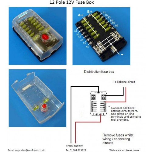 6 Way Distribution Fuse Box Willgen