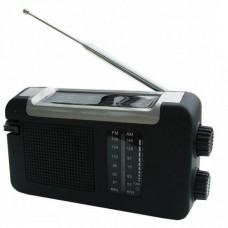 PowerPlus Cheetah Wind-up and Solar Radio