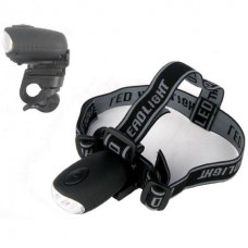 Wind up Headtorch and Bike Light