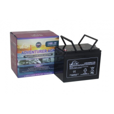 Leoch Adventurer AGM 12V 85Ah Leisure Battery