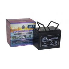 Leoch Adventurer AGM 12V 85Ah Leisure Battery