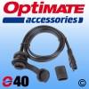 OptiMate SAE Panel Mount Socket