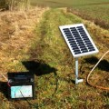 10W Solar Panel and Stake