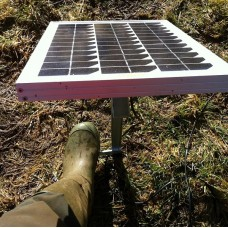 5W Solar Panel and Stake