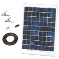 10W Solar Panel with Cable Kit